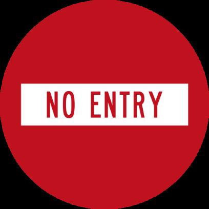 NZ Road Signs messages sticker-2