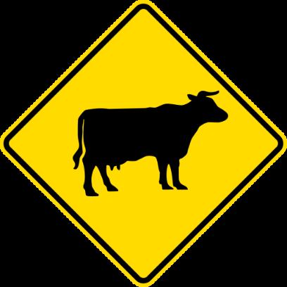 NZ Road Signs messages sticker-8