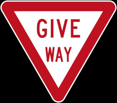 NZ Road Signs messages sticker-1