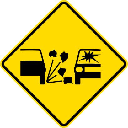 NZ Road Signs messages sticker-10