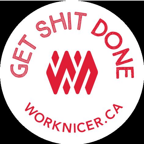 Work Nicer Coworking Stickers messages sticker-10
