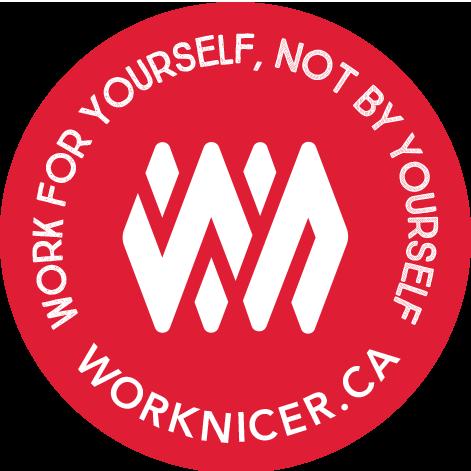 Work Nicer Coworking Stickers messages sticker-2