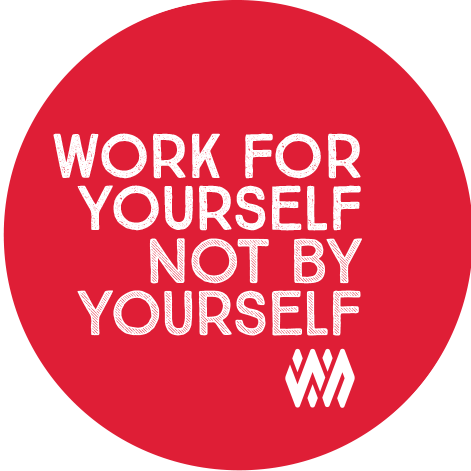 Work Nicer Coworking Stickers messages sticker-4