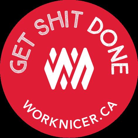 Work Nicer Coworking Stickers messages sticker-5