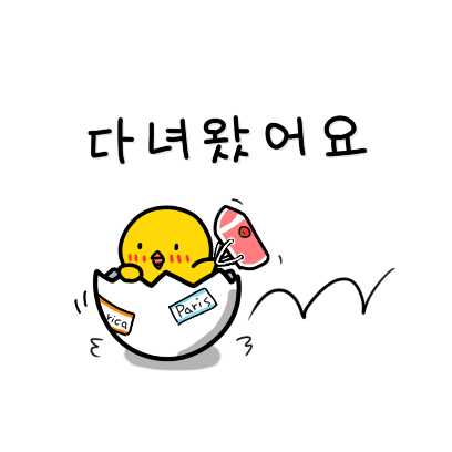 Chick KR Sticker - Season 1 messages sticker-3
