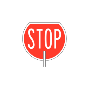NZ Road Signs messages sticker-6