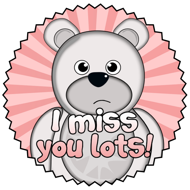 SoCute Bear messages sticker-3