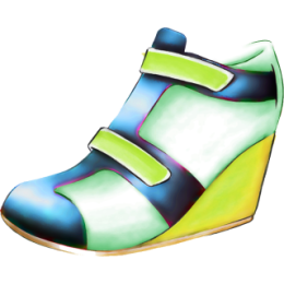 Shoes stickers by Weds for iMessage messages sticker-7