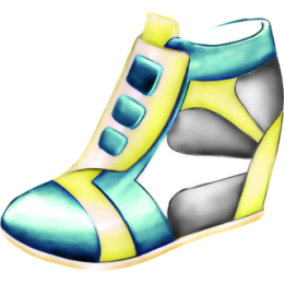 Shoes stickers by Weds for iMessage messages sticker-5