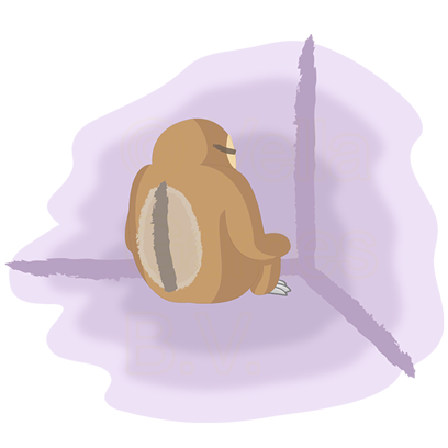 Andy the Sloth - Lazy Stickers messages sticker-8