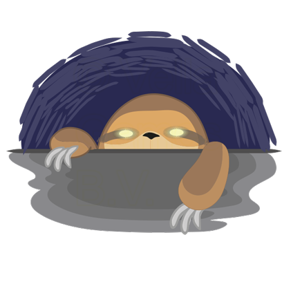 Andy the Sloth - Lazy Stickers messages sticker-2