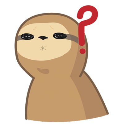 Andy the Sloth - Lazy Stickers messages sticker-1
