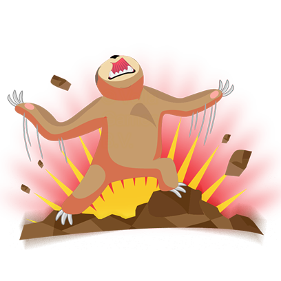 Andy the Sloth - Lazy Stickers messages sticker-10