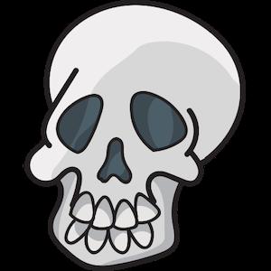 Halloween Doodles messages sticker-5