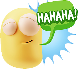 3D Expressions messages sticker-11