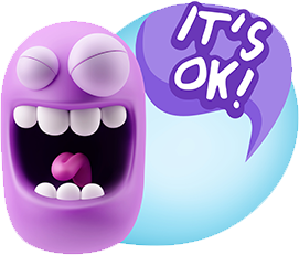 3D Expressions messages sticker-5