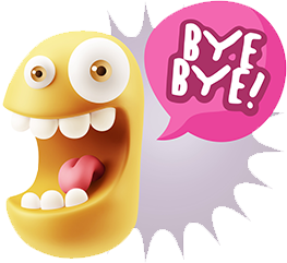 3D Expressions messages sticker-7