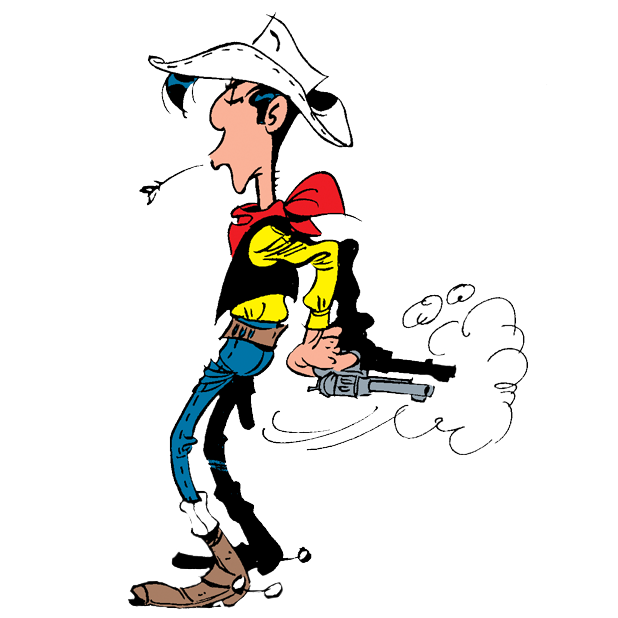 Lucky Luke Stickers messages sticker-6