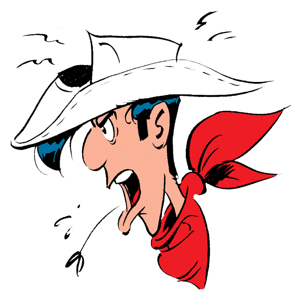 Lucky Luke Stickers messages sticker-10