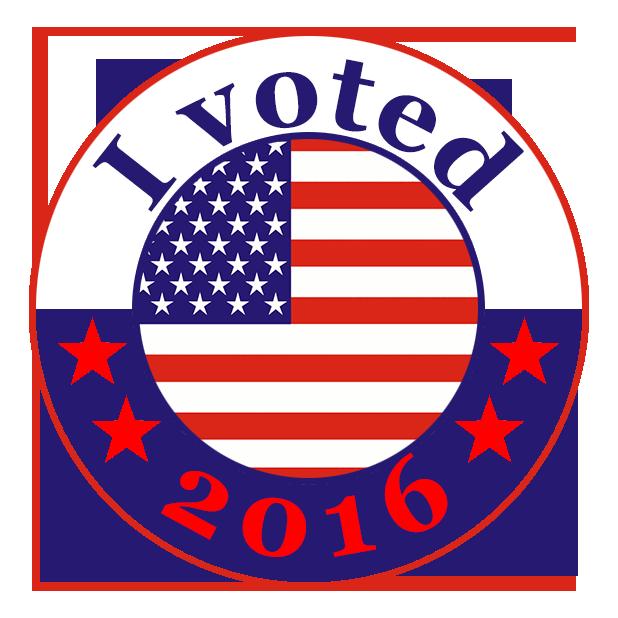 I Voted Stickers messages sticker-0