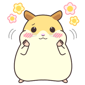 My lovely Hamster messages sticker-6