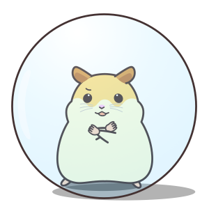 My lovely Hamster messages sticker-3