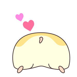 My lovely Hamster messages sticker-11