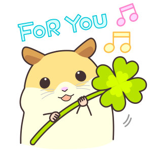 My lovely Hamster messages sticker-4