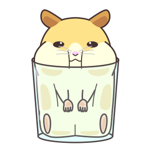 My lovely Hamster messages sticker-10