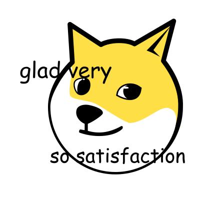 Doge Emoji messages sticker-8
