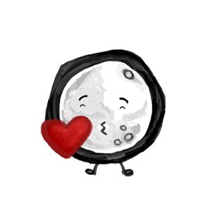 MoonFriesMoji messages sticker-6