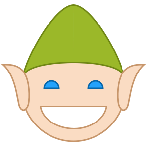 Elfie Stickers messages sticker-5