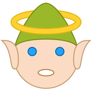 Elfie Stickers messages sticker-8