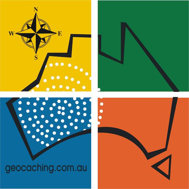 Geocaching Australia stickerpack messages sticker-0