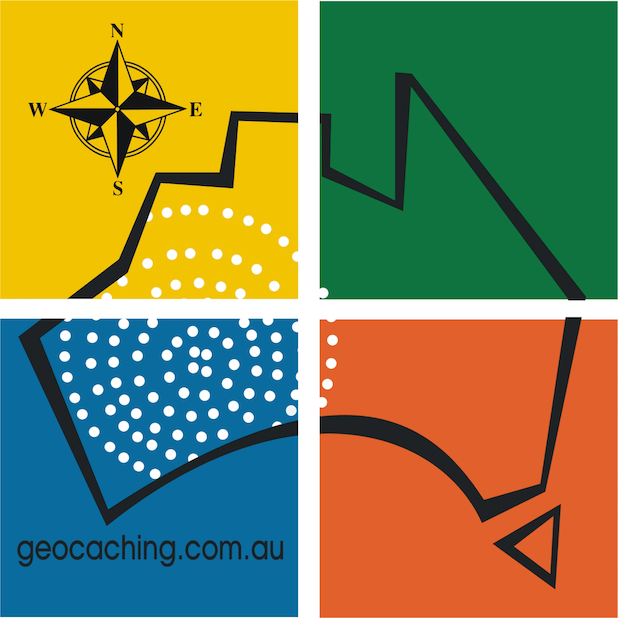 Geocaching Australia stickers messages sticker-0