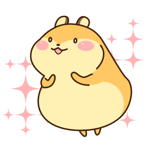 Petit Hamster messages sticker-2