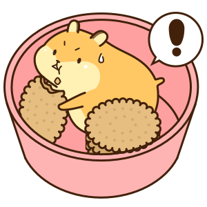 Petit Hamster messages sticker-8