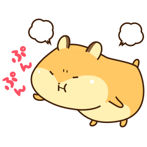 Petit Hamster messages sticker-7