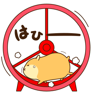 Petit Hamster messages sticker-6