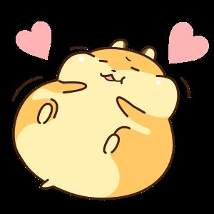 Petit Hamster messages sticker-1
