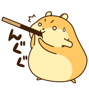 Petit Hamster messages sticker-10