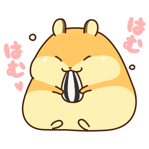 Petit Hamster messages sticker-3