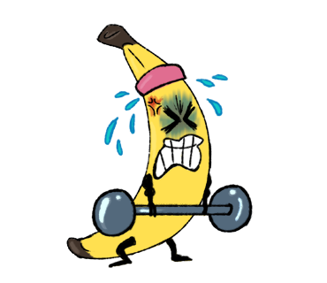 Awkward Banana messages sticker-9