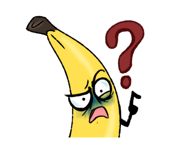 Awkward Banana messages sticker-3