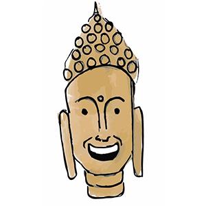 Sticky Buddha - Eastern Spirituality Fun messages sticker-2