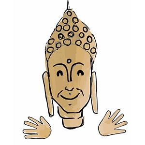 Sticky Buddha - Eastern Spirituality Fun messages sticker-10