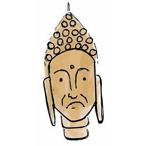 Sticky Buddha - Eastern Spirituality Fun messages sticker-5