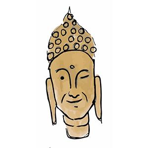Sticky Buddha - Eastern Spirituality Fun messages sticker-0