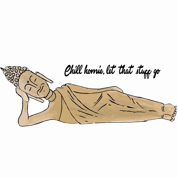 Sticky Buddha - Eastern Spirituality Fun messages sticker-6
