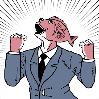 Business Fish Sticker messages sticker-3